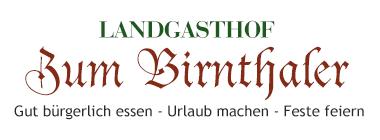 Landgasthof Birnthaler Kallmünz